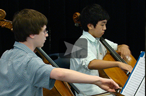 Youth and College Symphony Solo Performance Study PIMF Orchestra Camp Tuba Viola Cello Double Bass Violin Flute Oboe Clarinet Bassoon Horn Trumpet Trombone Summer Orchestra Camp Program