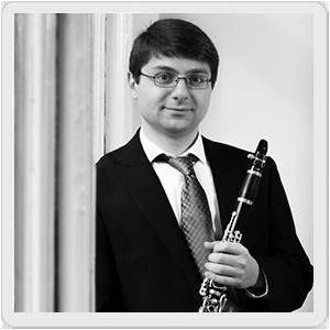Borris Allakhverdyan, clarinet