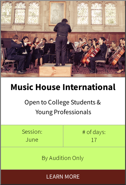 Music House International Program