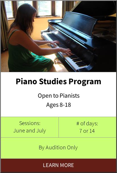 Philadelphia International Music Camp & Festival - Piano Studies Program