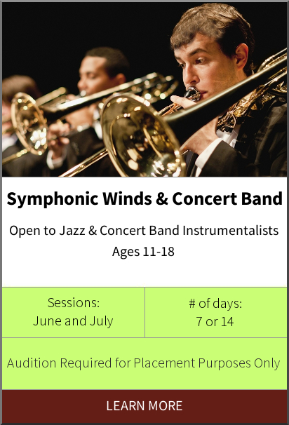 Philadelphia International Music Camp & Festival - Symphonic Winds & Concert Band Program
