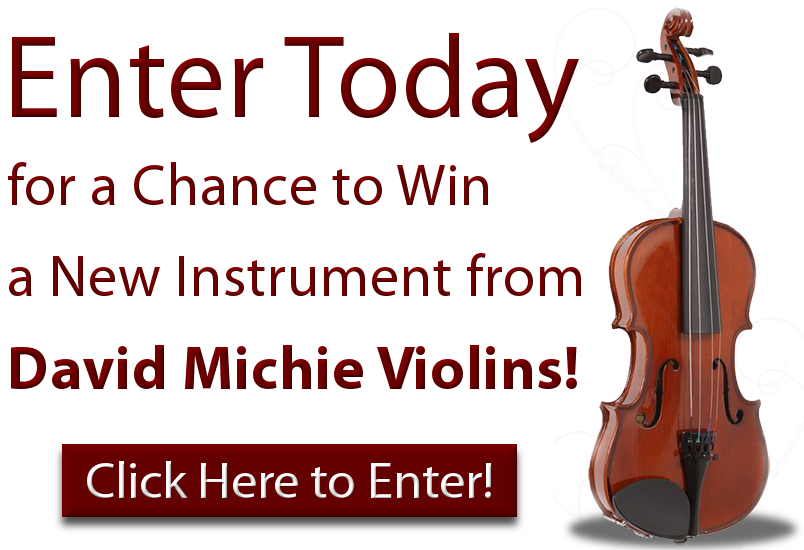 David Michie Violin Sweepstakes