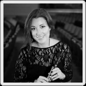 Erica Peel, flute