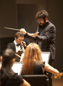 Dr. Correa-Cruz and the Southeastern Symphony Orchestra